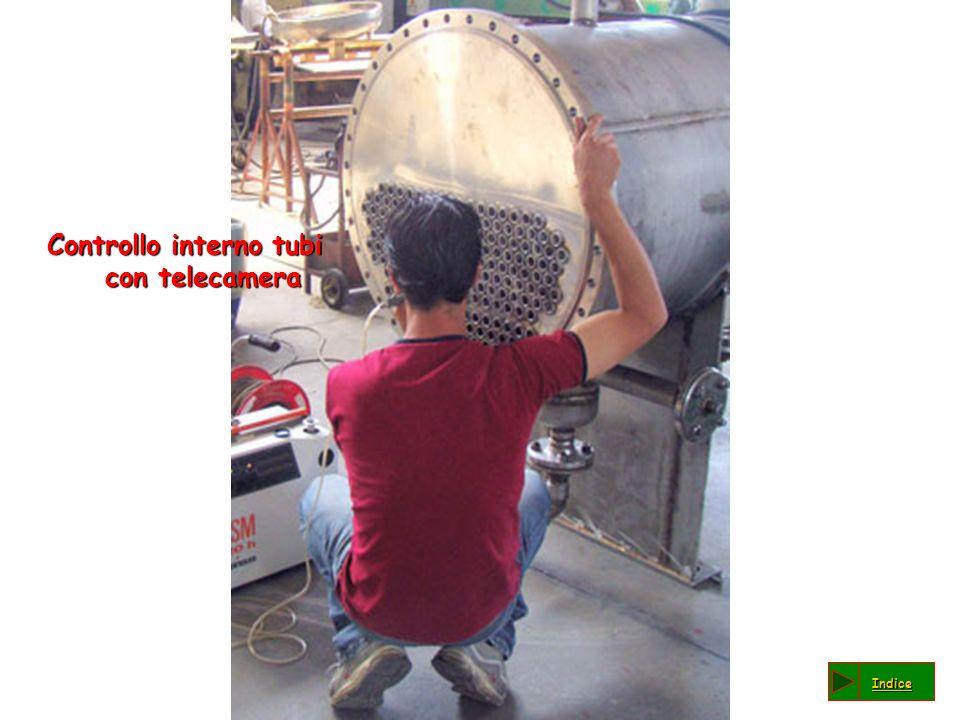 Controllo interno tubi con telecamera Indice