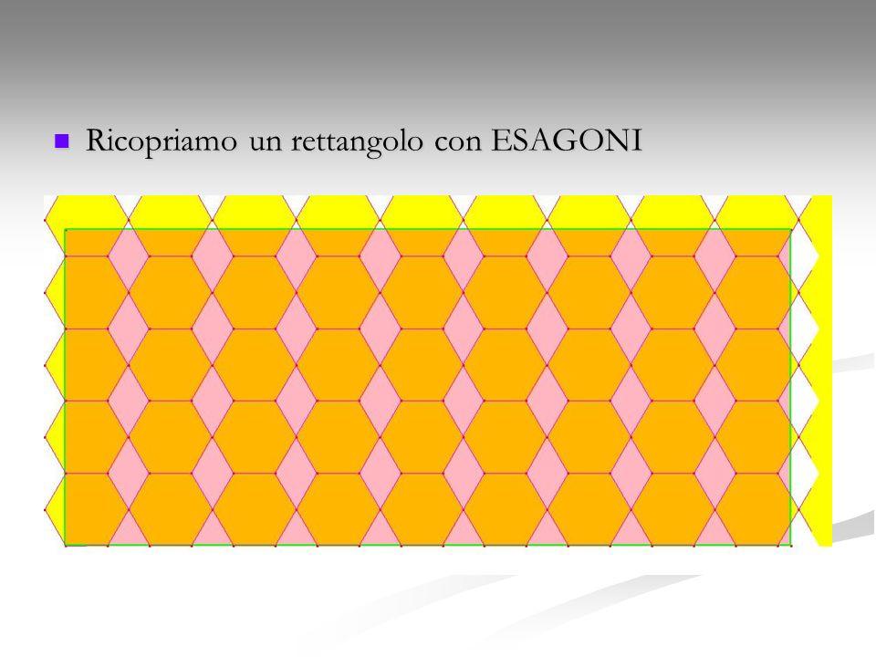Ricopriamo un rettangolo con ESAGONI Ricopriamo un rettangolo con ESAGONI