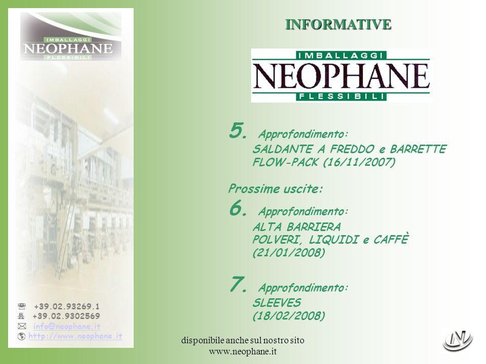 Informativa n°5, 16/11/07 - pag.