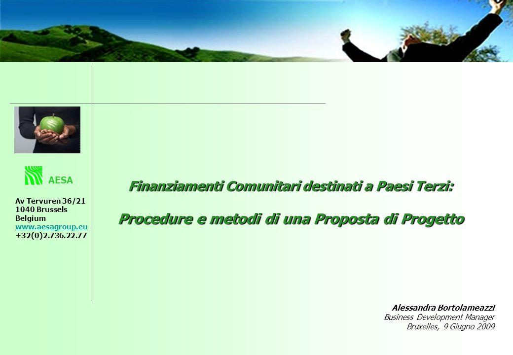 Il contratto quadro è uno strumento di gestione amministrativa che permette la rapida mobilizazzione di servizi di Assistenza Tecnica.