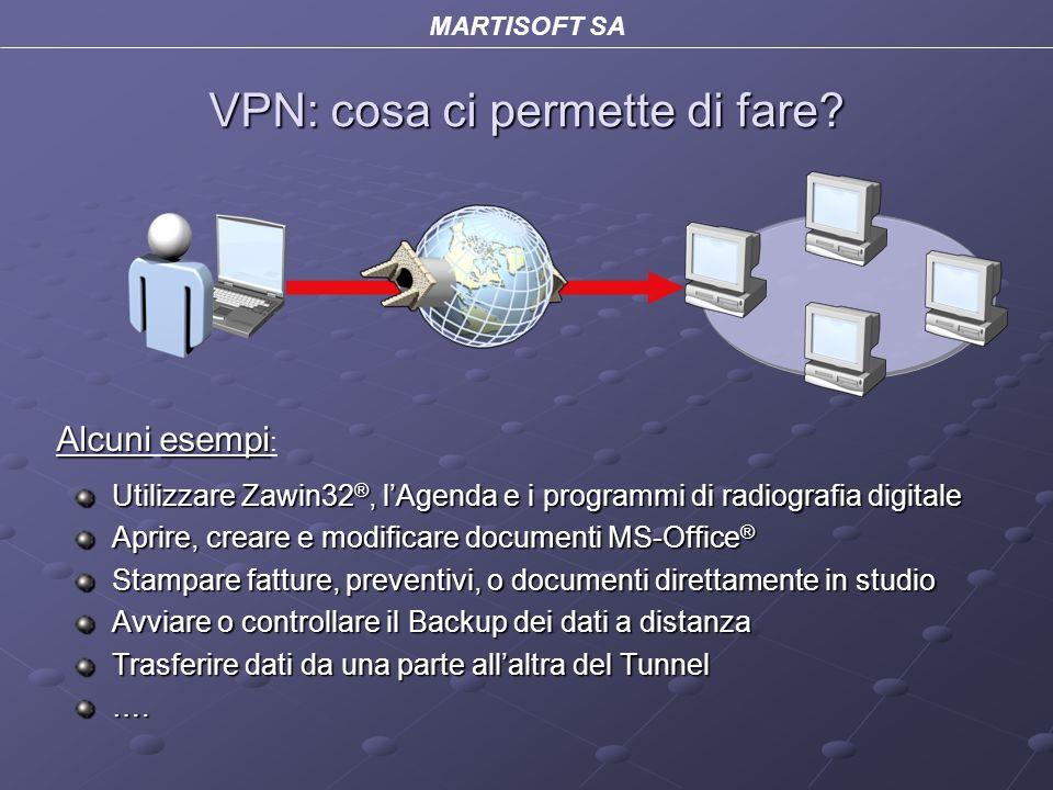 MARTISOFT SA VPN: cosa ci permette di fare.