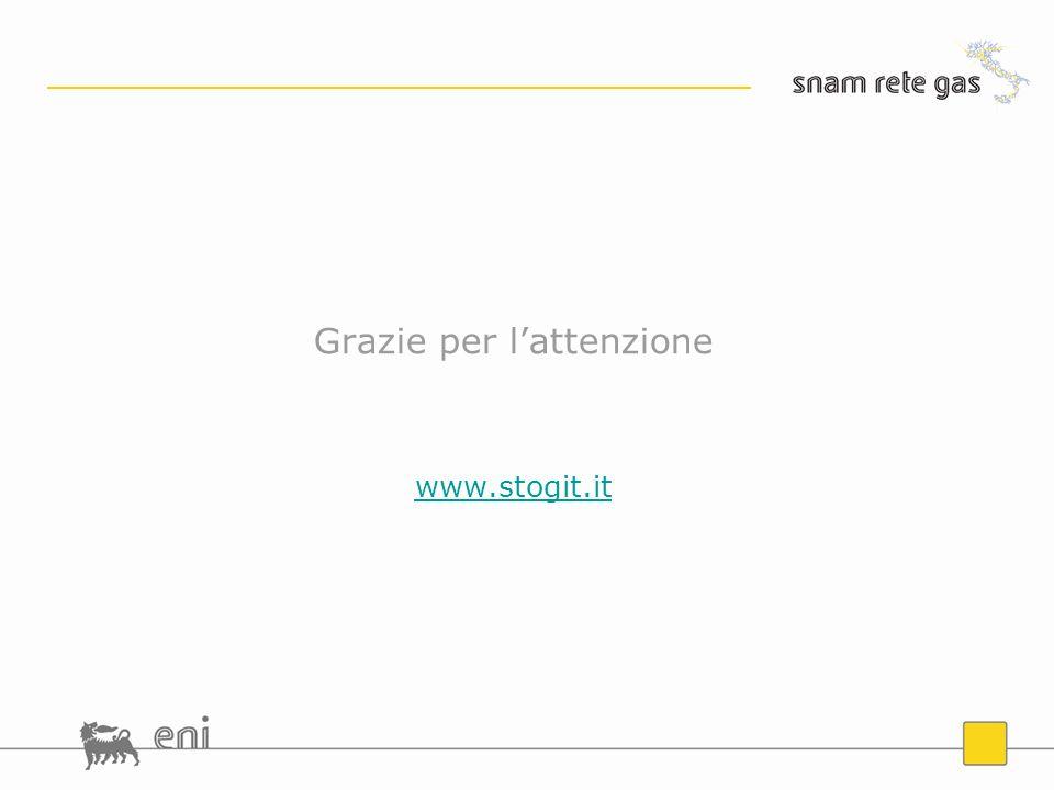Grazie per lattenzione www.stogit.it