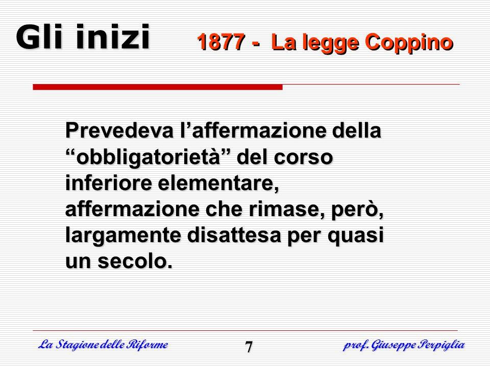 Allinizio fu …lautonomia Legge n° 59 del 15/03/1997 - art.