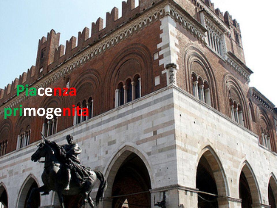 Questo lavoro è stato creato per celebrare i centocinquant anni dellUnità d Italia e mostra il cambiamento che hanno subito le vie di Piacenza Primogenita nel periodo considerato.