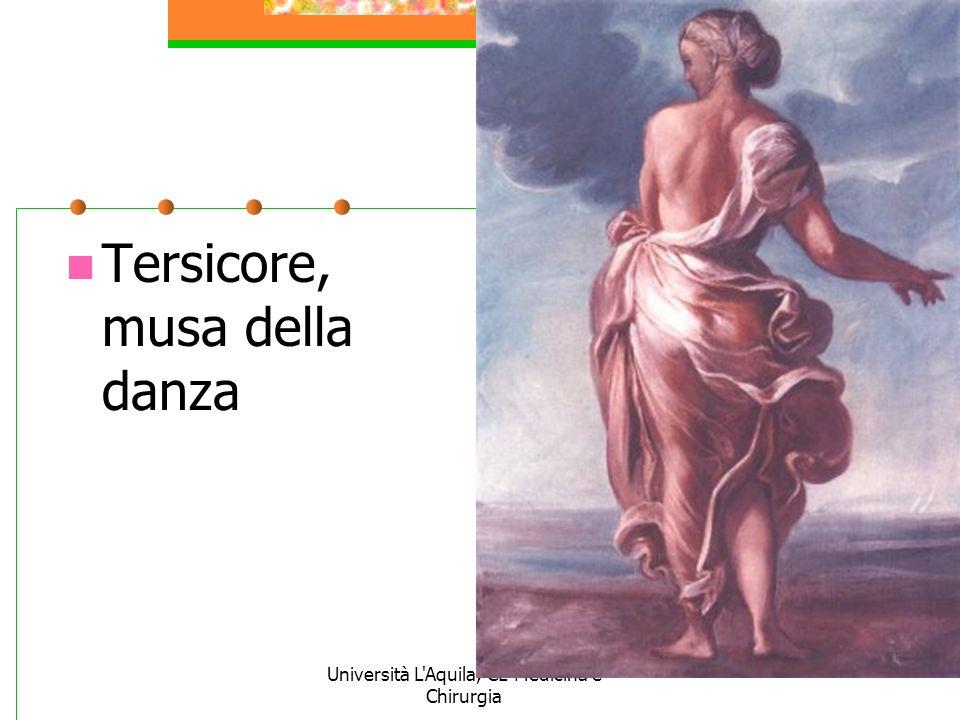Università L'Aquila, CL Medicina e Chirurgia Tersicore, musa della danza