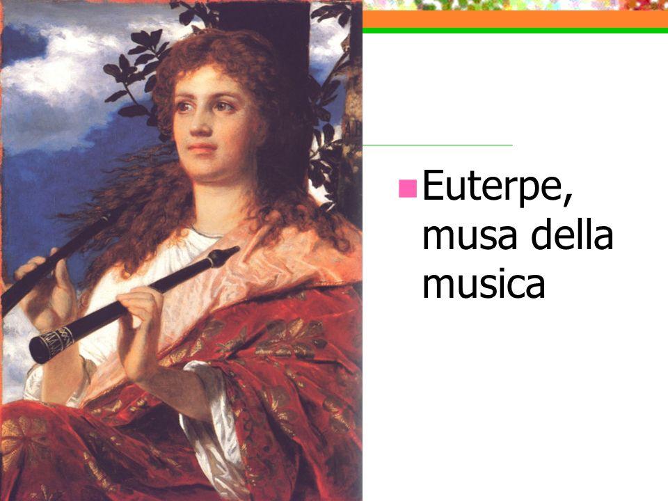 Euterpe, musa della musica