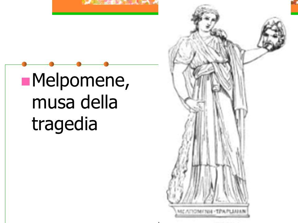 Melpomene, musa della tragedia
