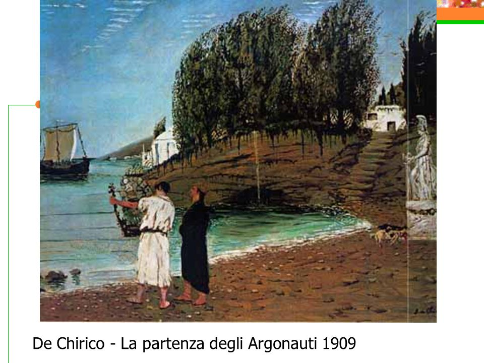 De Chirico - La partenza degli Argonauti 1909