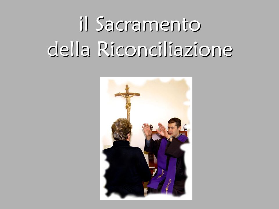 È il quarto dei sette Sacramenti 1.Battesimo 2.Cresima 3.Eucaristia 4.Confessione 5.Unzione dei malati 6.Ordine 7.Matrimonio 1.Battesimo 2.Cresima 3.Eucaristia 4.Confessione 5.Unzione dei malati 6.Ordine 7.Matrimonio