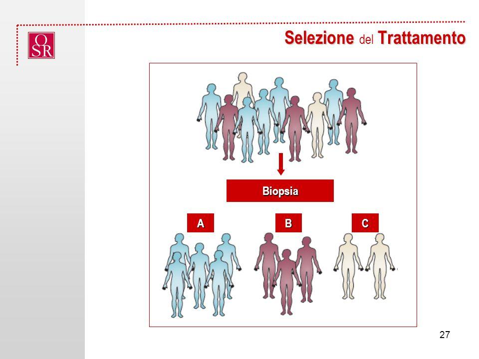Selezione Trattamento Selezione del Trattamento Biopsia ABC 27