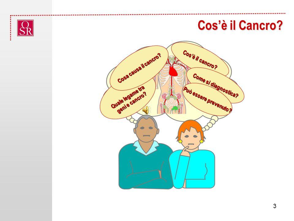 Cosè il Cancro.Cosè il cancro. Come si diagnostica.