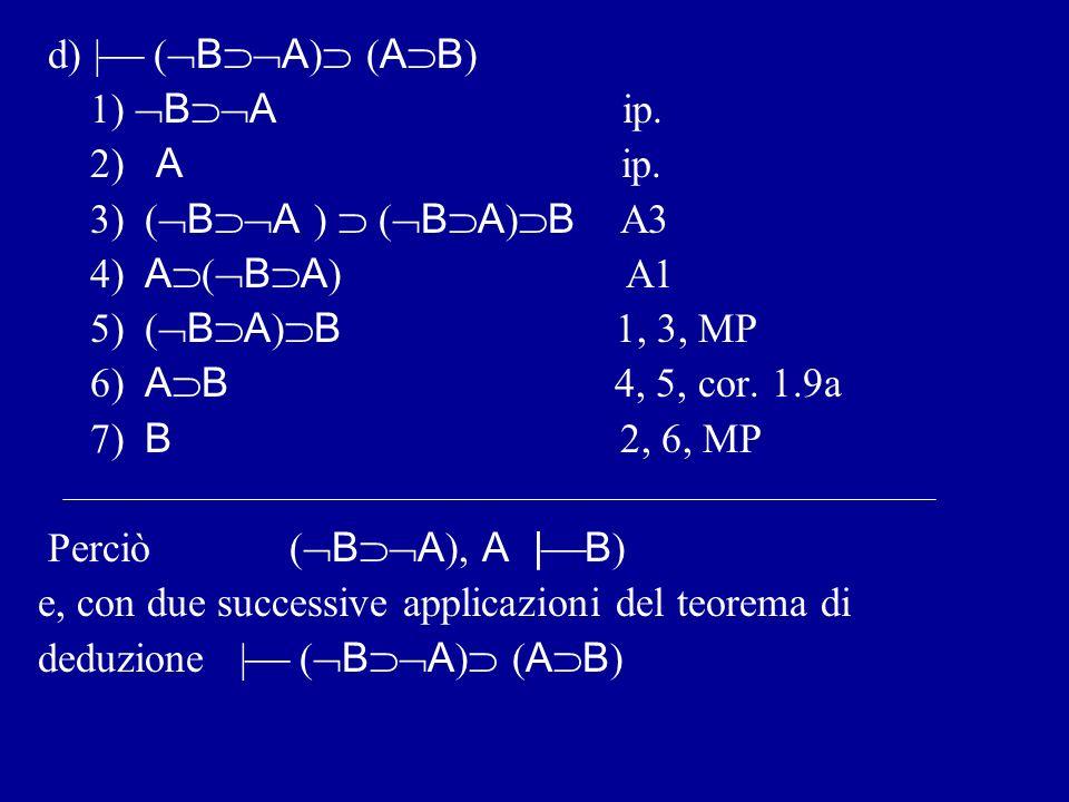 C)   A ( A B ).1) A ip. 2) A ip.