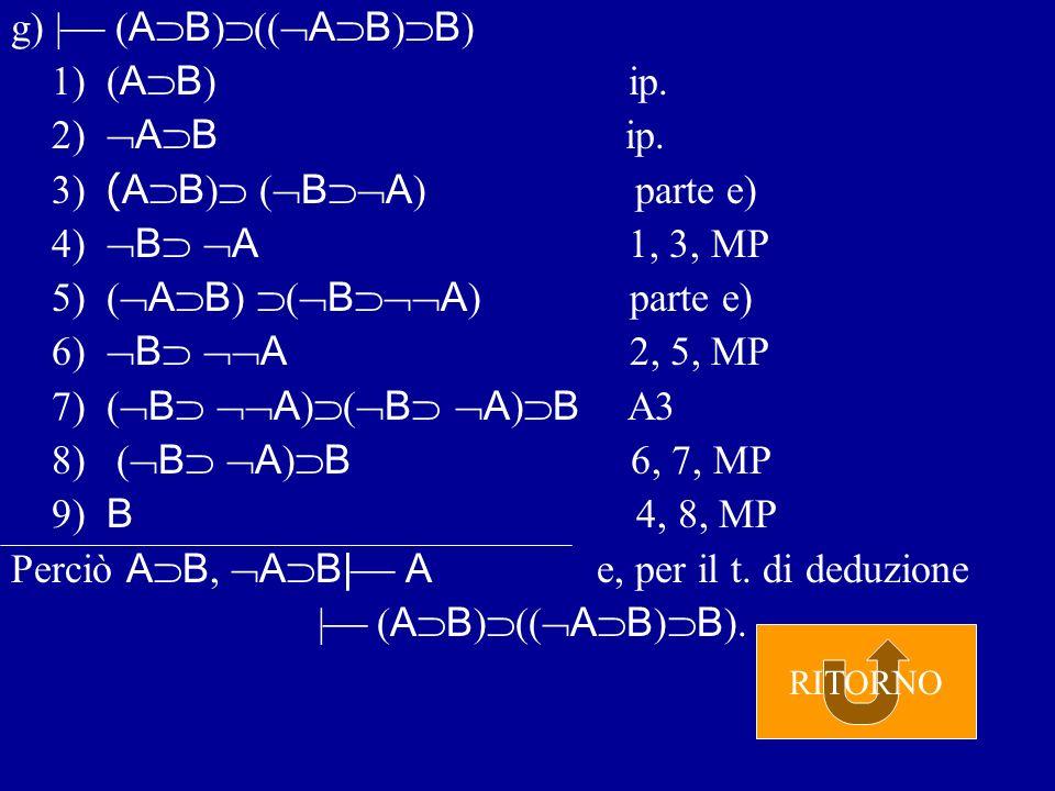f)   A ( B ( A B ) 1) A ip.2) A B ip.