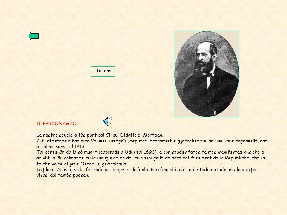 FRIULI VENEZIA GIULIA TRIESTE GORIZIA PORDENONE UDINE Talmassons Mortegliano VENETO SLOVENIA AUSTRIA Mar Adriatico POSIZIONE GEOGRAFICA La Scuola Elementare Pacifico Valussi si trova Talmassons, un Comune del Friuli-Venezia Giulia, in provincia di Udine, che comprende le frazioni di Flambro, Flumignano e SantAndrat del Cormor per un totale di circa 4.500 abitanti.