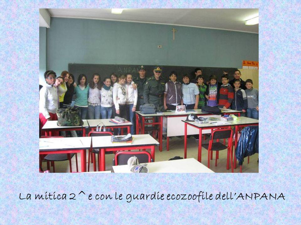 La mitica 2^e con le guardie ecozoofile dellANPANA