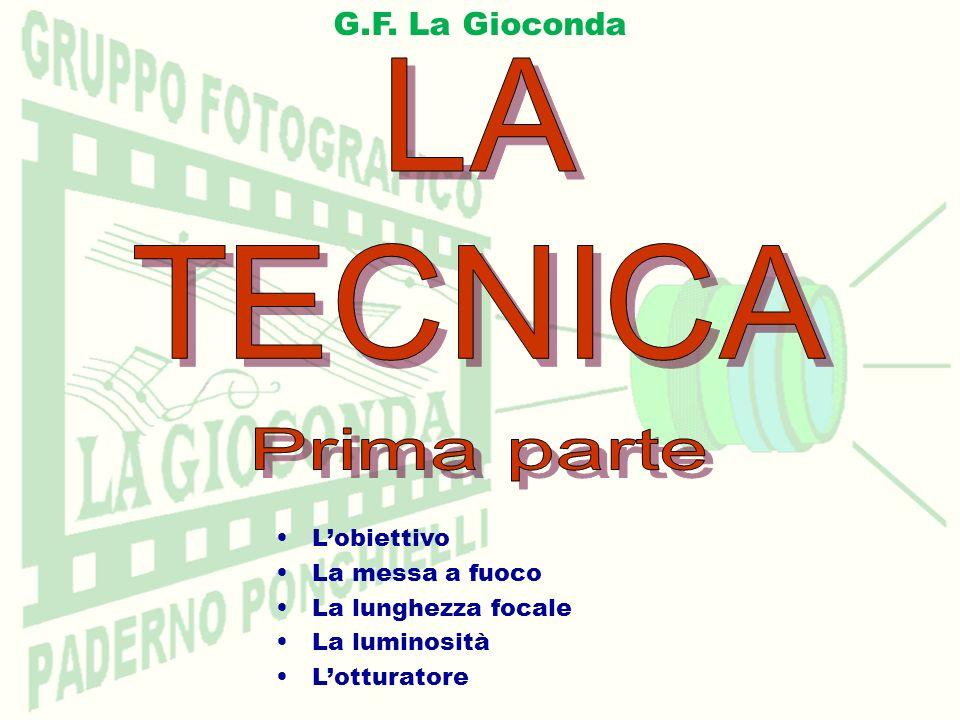LOBIETTIVO Lunghezza focale Grandangolo 0,50 m Tele 3 m Grandangolo Grandangolo Particolare