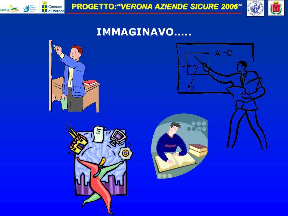 PROGETTO:VERONA AZIENDE SICURE 2006 IMMAGINAVO…..