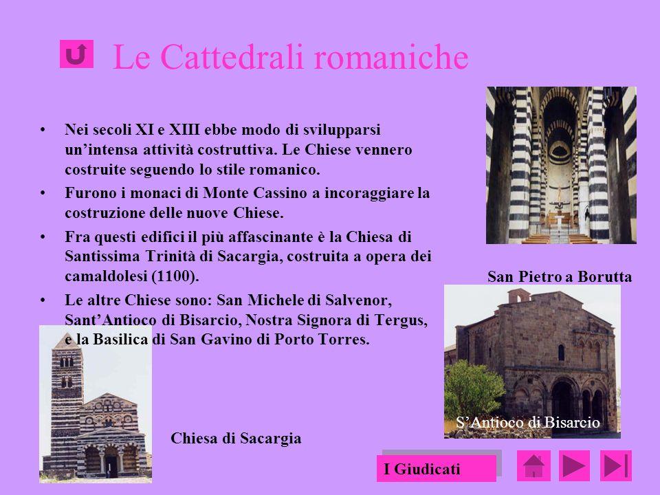 Le Cattedrali romaniche Nei secoli XI e XIII ebbe modo di svilupparsi unintensa attività costruttiva.