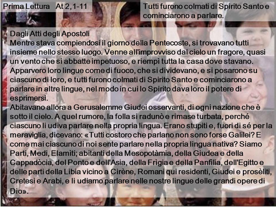 Domenica di PENTECOSTE Domenica di PENTECOSTE Anno A 11 maggio 2008 La melodia bizantina La 3a ode Pasquale proviene del canto delle sinagoghe ebraich