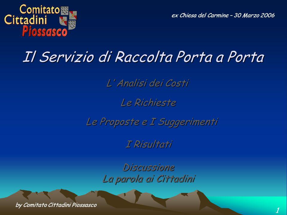 by Comitato Cittadini Piossasco 12 ex Chiesa del Carmine – 30 Marzo 2006 … e oltre al danno anche la beffa ….