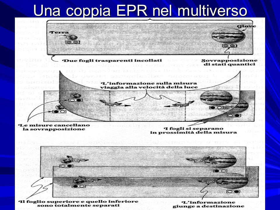 23 Una coppia EPR nel multiverso