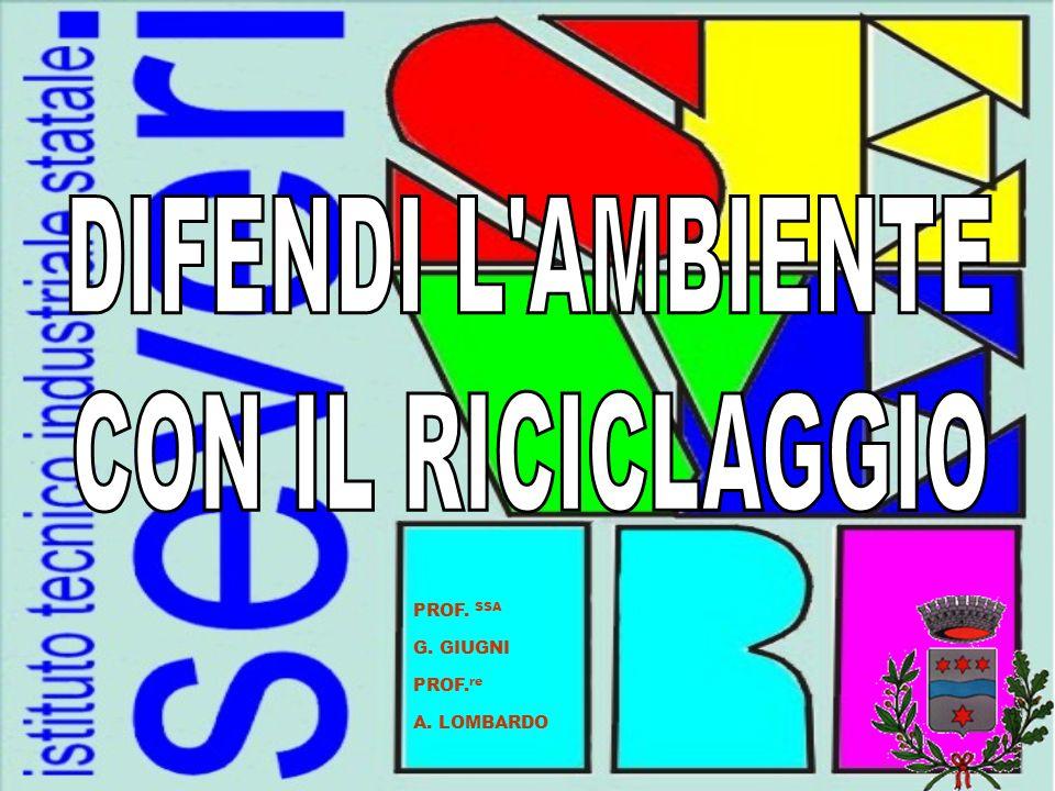 PROF. SSA G. GIUGNI PROF. re A. LOMBARDO
