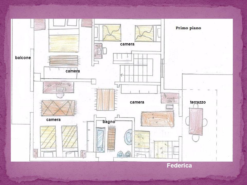 Federica camera terrazzo balcone bagno