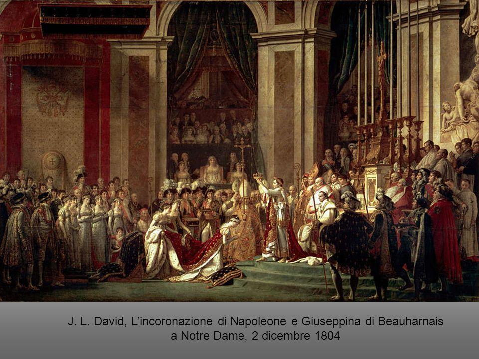 J. L. David, Lincoronazione di Napoleone e Giuseppina di Beauharnais a Notre Dame, 2 dicembre 1804
