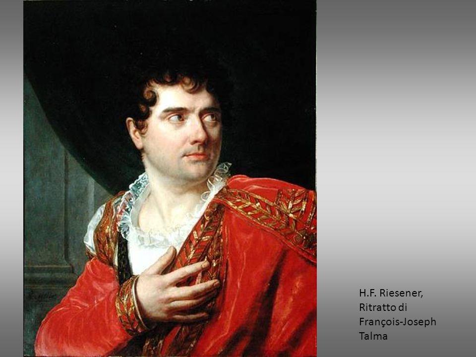H.F. Riesener, Ritratto di François-Joseph Talma