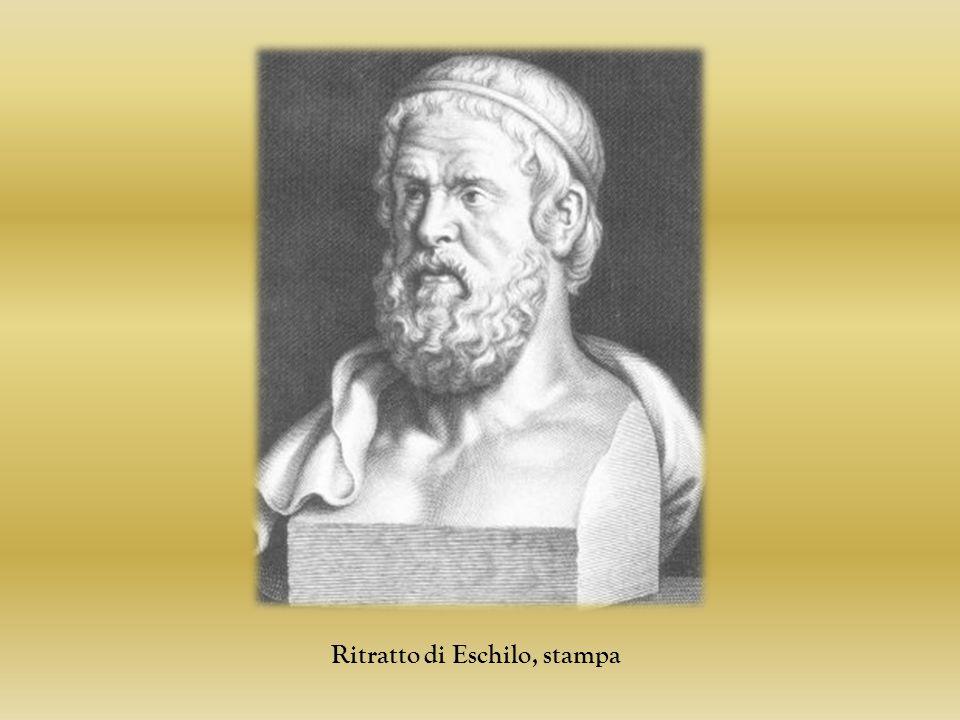 Ritratto di Eschilo, stampa