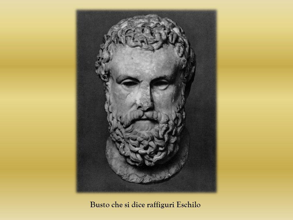Busto che si dice raffiguri Eschilo