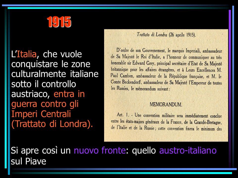 Linterventismo italiano Carlo Carrà Dimostrazione interventista, 1914