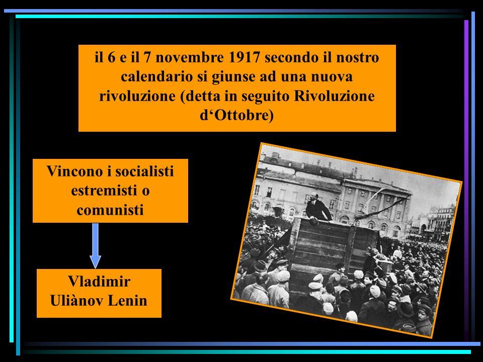 LA RIVOLUZIONE RUSSA nel febbraio del 1917 scoppiò a Pietrogrado una spontanea sommossa popolare al potere i socialisti moderati lo zar Nicola II abdica