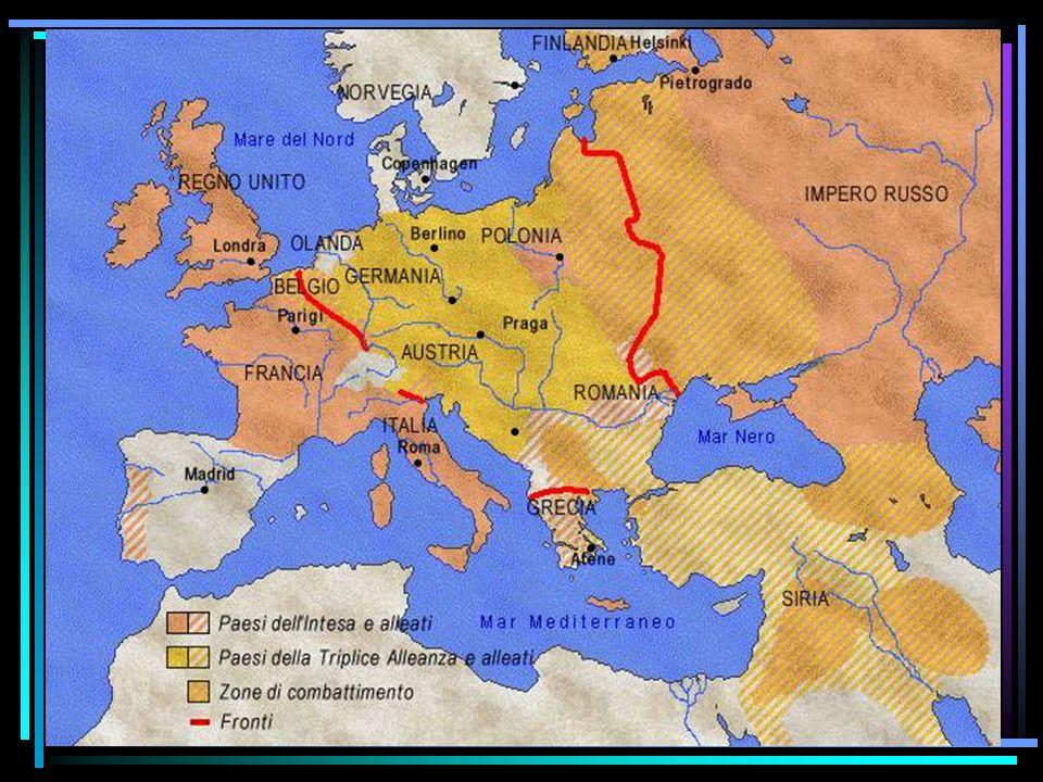 L Inghilterra scendeva in campo a fianco della Francia Turchia Bulgaria Austria Germania Francia Russia Inghilterra Belgio Serbia Romania Giappone