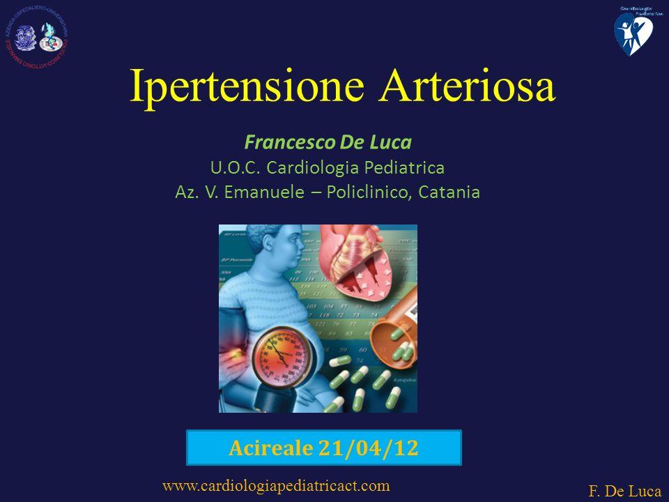 www.cardiologiapediatricact.com F.De Luca Francesco De Luca U.O.C.