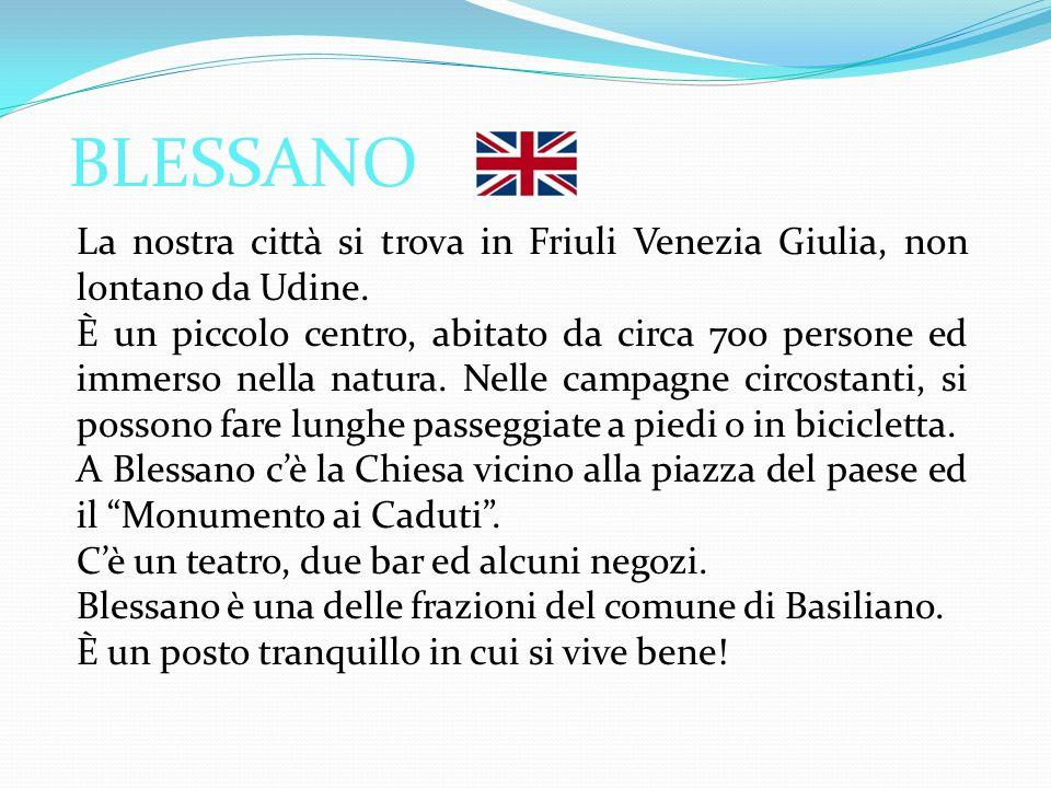 La nostra città si trova in Friuli Venezia Giulia, non lontano da Udine.
