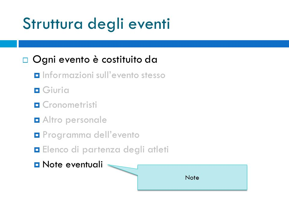 Grammatica B.N.F GrammarScope : Infocompetition Jurycronoother Programcomp Startlist Note Scopo della Grammatica INT : DIGIT+; FLOAT:DIGIT+ . DIGIT+; DATE : DIGIT DIGIT / DIGIT DIGIT / (DIGIT DIGIT | DIGIT DIGIT DIGIT DIGIT) ; HOUR : DIGIT DIGIT : DIGIT DIGIT; STRING: ( ESC_SEQ | ~( \\ | ) )* ; WS : ( | \t | \r | \n ) {$channel=HIDDEN;}; … INT : DIGIT+; FLOAT:DIGIT+ . DIGIT+; DATE : DIGIT DIGIT / DIGIT DIGIT / (DIGIT DIGIT | DIGIT DIGIT DIGIT DIGIT) ; HOUR : DIGIT DIGIT : DIGIT DIGIT; STRING: ( ESC_SEQ | ~( \\ | ) )* ; WS : ( | \t | \r | \n ) {$channel=HIDDEN;}; … EVENT = event ; INFOEVENT= infoevent ; NAMEEVENT= nameevent ; CATEGORY= cat ; ORGANIZ= org ; LOCATION= loc ; TYPE= type ; … EVENT = event ; INFOEVENT= infoevent ; NAMEEVENT= nameevent ; CATEGORY= cat ; ORGANIZ= org ; LOCATION= loc ; TYPE= type ; … TOKEN