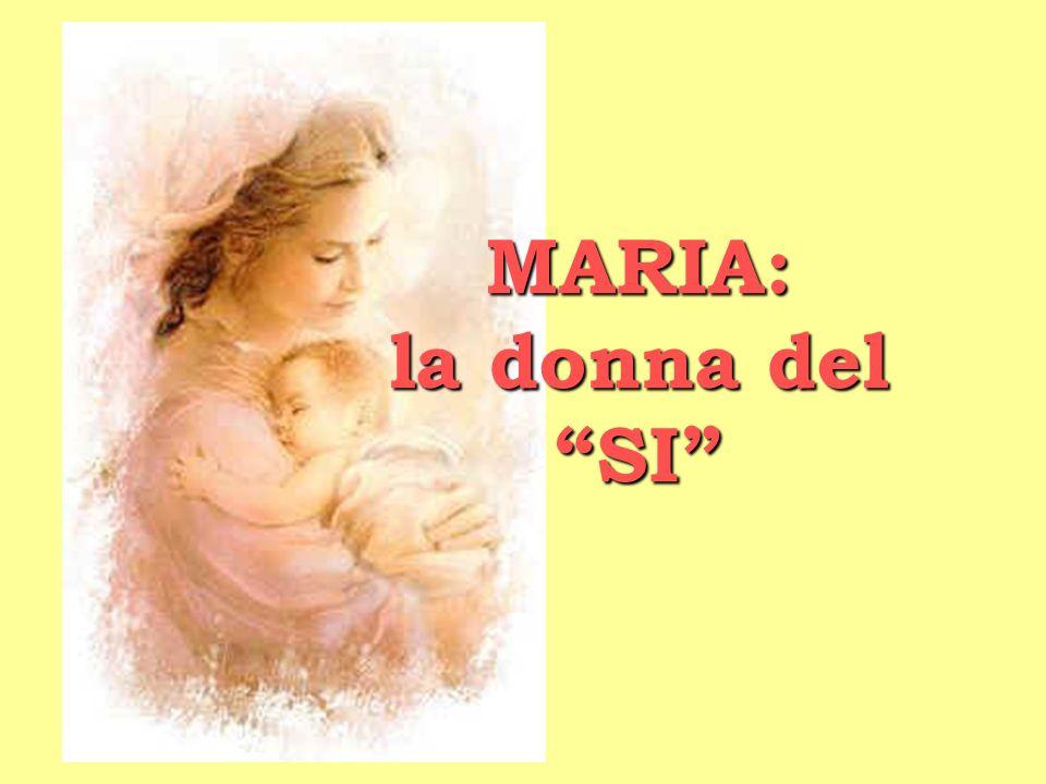 Ringraziamo Maria per il suo Eccomi e chiediamo la grazia di diventare, a nostra volta, SI A DIO, nel concreto della vita.