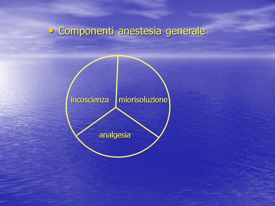 Anestesia spinale o subaracnoidea
