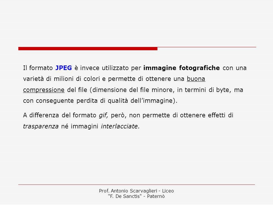 Prof. Antonio Scarvaglieri - Liceo