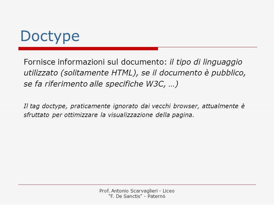 Prof.Antonio Scarvaglieri - Liceo F.