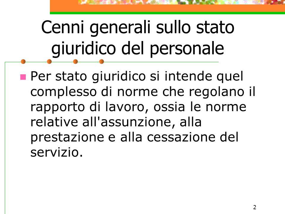 1 La ricostruzione della carriera del personale della scuola: Dalla teoria alla pratica Relatore: Luciana Petrucci Ciaschini