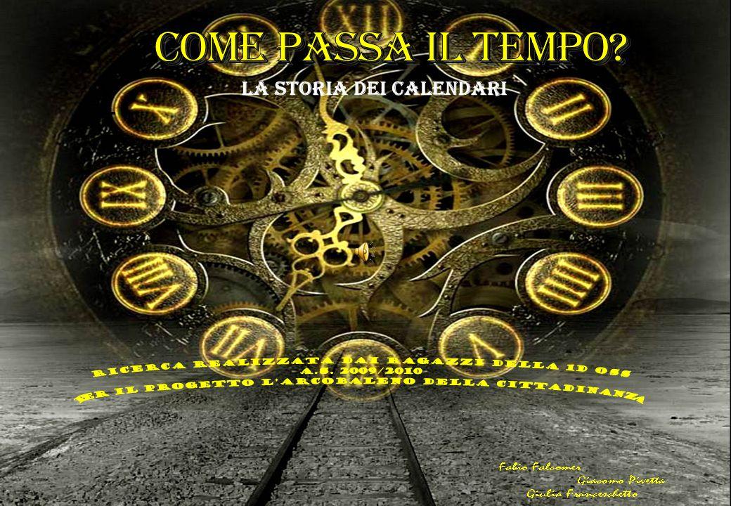 IL CALENDARIO ROMANO L Anno Romano primitivo comprendeva 304 giorni ed era suddiviso in 10 mesi.