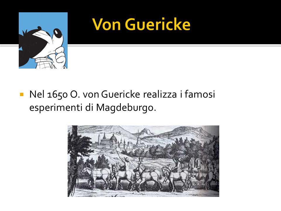 Nel 1648 Puy de Dome e F.Perier rilevano le altezze del mercurio con un barometro torricelliano a varie altitudini e dimostrano che un vuoto naturale
