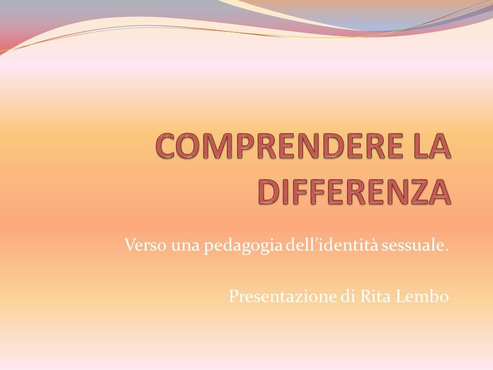 Comprendere la differenza, scritto da Federico Batini, è un testo che tratta largomento dellidentità sessuale.