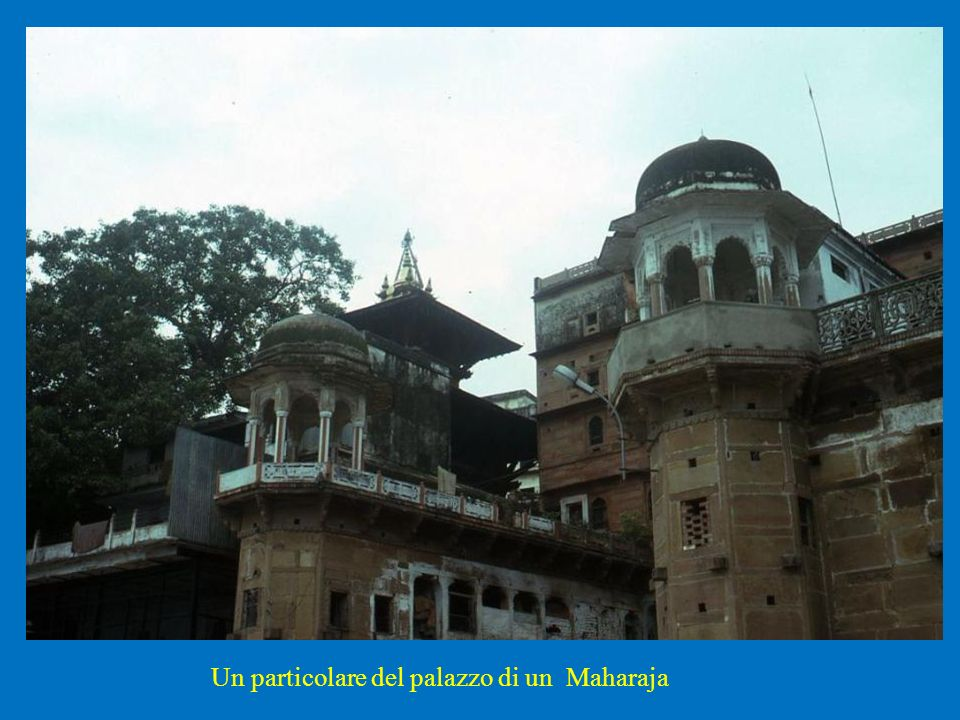 Un particolare del palazzo di un Maharaja
