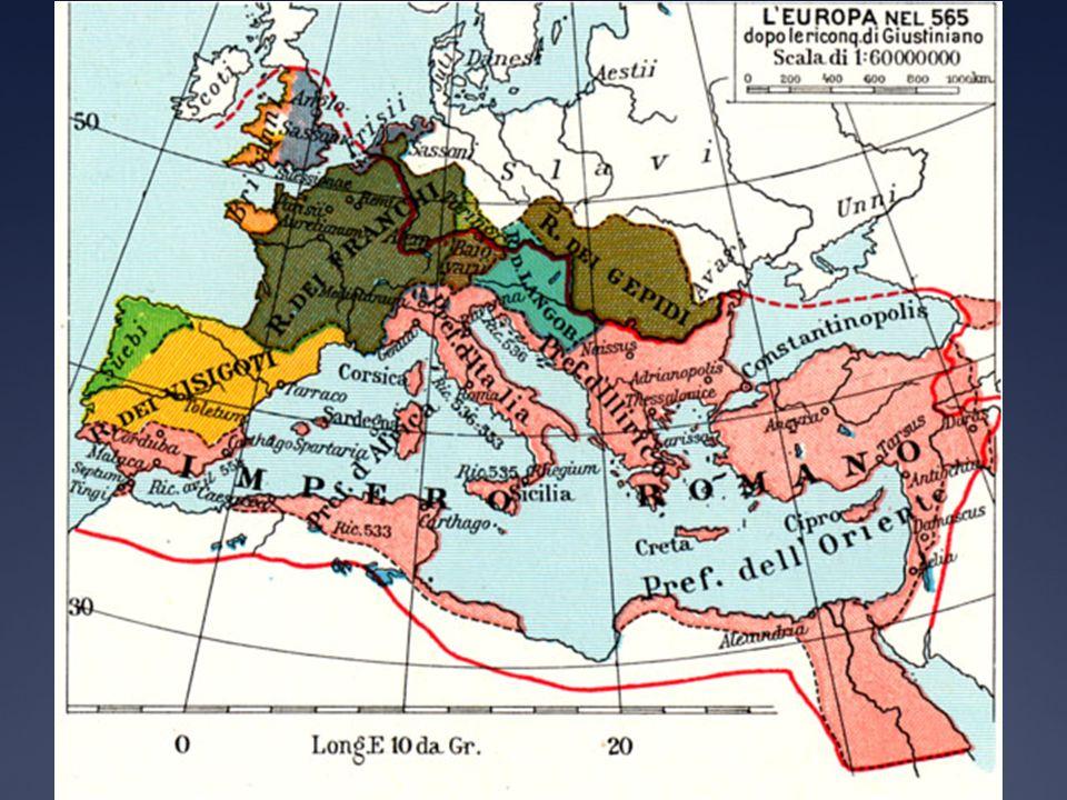 Conversione dei Visigoti alla fede cattolica Linizio della conversione alla fede cattolica si ebbe solo dal VI secolo.