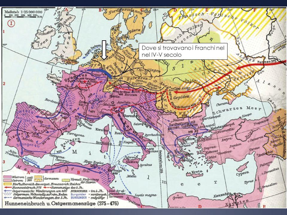 Il giovane e ambizioso re dei Franchi Salii era Clodoveo (481-511).