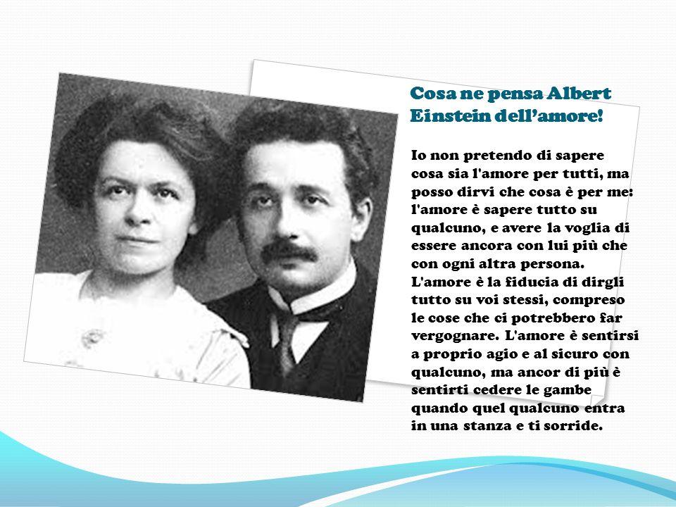 Albert Einstein E si proprio lui!
