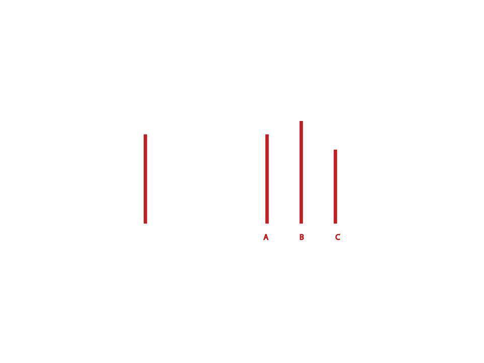 Esperimento di Sherif (Metodo) Disegno sperimentale: Osservazione e analisi dellampiezza del movimento autocinetico percepito dai soggetti – (LEFFETTO AUTOCINETICO: Fenomeno che compare quando uno stimolo visuale viene percepito nello spazio in assenza di altri punti di riferimento.
